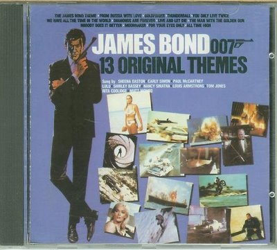 """007系列-James Bond-13 Original Themes""- John Barry(45)...etc"