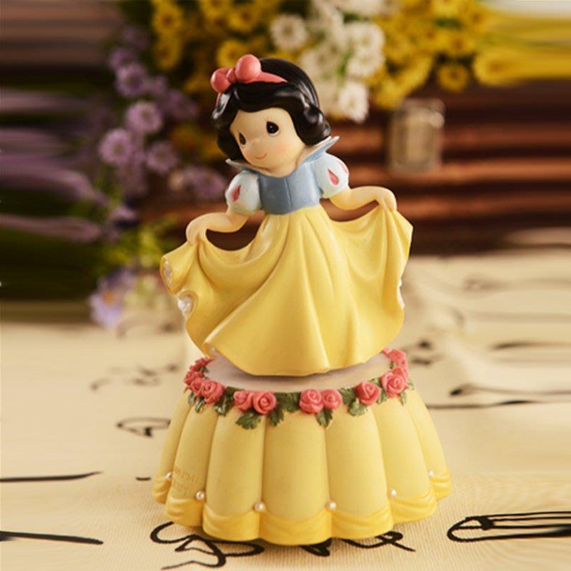 乾一白雪公主音樂盒八音盒創意兒童節禮品送女生朋友女孩兒童生日禮物