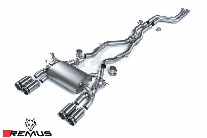 【樂駒】BMW F80 F82 F83 M3 M4 S55 REMUS 中尾段 排氣管 引擎 改裝 套件 精品