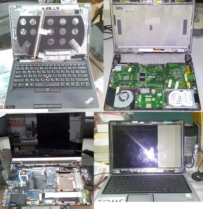 【內湖英璨電腦維修】各廠牌筆記型電腦維修 更換硬碟 記憶體 面板 鍵盤 風扇 不開機 畫面雜訊 無畫面維修 備份資料