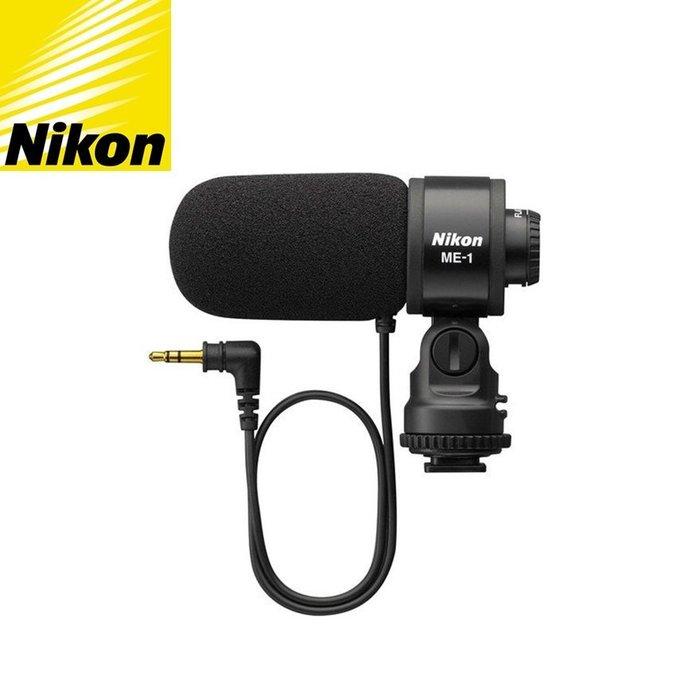 原廠尼康Nikon麥克風ME-1麥克風降噪單指向性麥克風電容式麥克風MIC立體聲麥克風ME1麥克風單向麥克風stereo原廠Nikon麥克風收音麥克風錄音麥克風