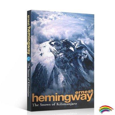 英文原版 海明威:乞力馬扎羅的雪 Ernest Hemingway: The Snows Of Kilimanjaro And Other Stories 青少