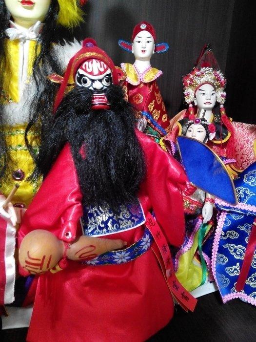民俗傳統戲偶鍾馗