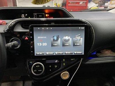銳訓汽車配件精品 TOYOTA Prius 專用10吋螢幕V55系列安卓機*8核心4+32G