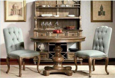 歐式古典元餐桌
