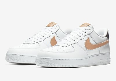 (A.B.E)Nike 耐克 Air Force 1 Low Removable Swoosh CT2253-100 CT2252-001