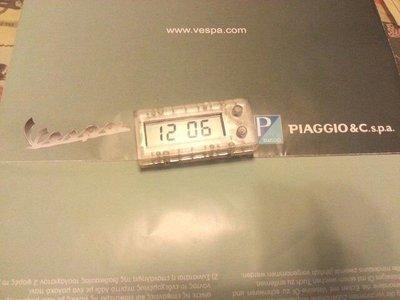 特價 Vespa 偉士牌 LX GTS GT200 GTS250 S LT 碼錶 儀表 馬錶 時鐘  時間  電子