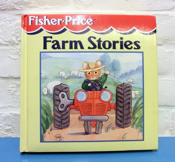 *【兒童英語繪本】*小pen外文童書~~Fisher-Price~ Farm Stories 共312頁