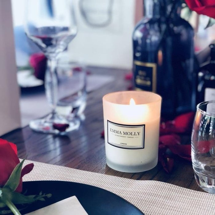 無煙安神香氛香薰蠟燭杯大豆蠟臥室新婚禮物禮盒凈化空氣