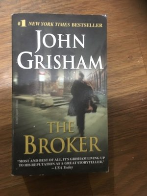 【馬克的二手書】Grisham, John - The Broker