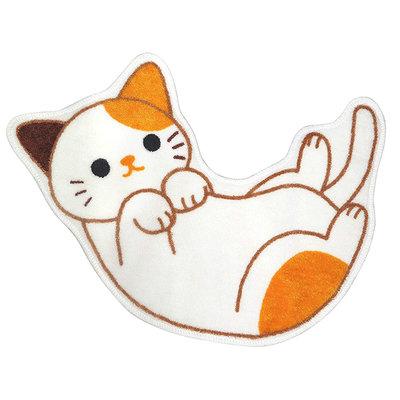 日本 可愛小貓咪 喵星人 柴犬 小狗 黑貓 三花貓 造型地墊 浴室廁所 腳踏墊 門墊 門口玄關踏墊 地毯 門毯 日式門墊