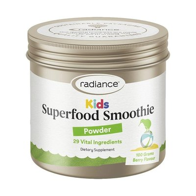 *自然之光* 紐西蘭Radiance光采兒童專用超級莓果營養素100克(含枸杞+甜菜根+巴西莓+螺旋藻+龍根菌)