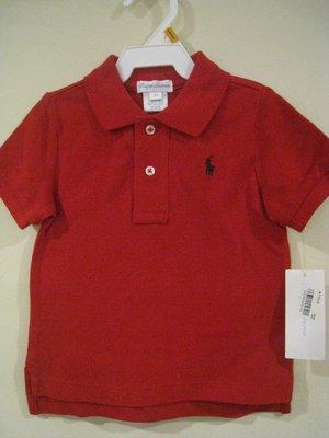 Ralph Lauren 男童 polo衫 12M