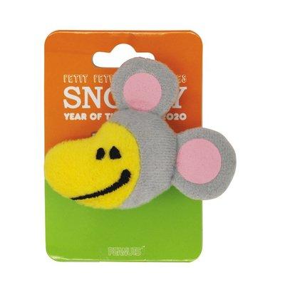 日本正版 Snoopy 史努比 史諾比 Woodstock 扣針 掛飾 (鼠)