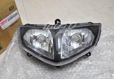 《MOTO車》山葉 車玩 5NW 5NV 透明 原廠 大燈 頭燈組