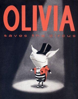 *小貝比的家*OLIVIA SAVES THE CIRCUS /平裝/3~6歲