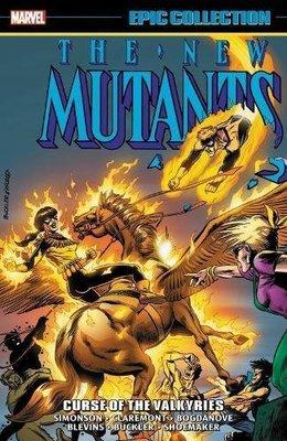 《代訂中》[美版書籍]New Mutants Epic Collection: Curse(9781302910365)