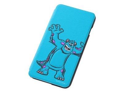 尼德斯Nydus~* 日本 Disney 迪士尼 怪獸大學 毛怪 翻頁式 手機殼 iphone6+ plus 5.5吋