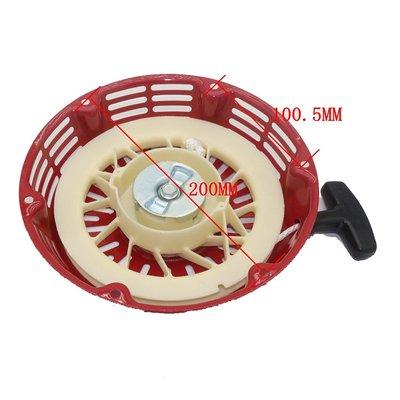 摩托車園林工具 發電機手拉器 總成拉盤啟動器 GX340 GX390