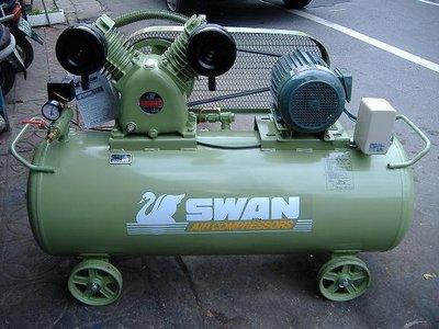 空壓機 天鵝牌3HP單項220V 桶子237L{吉豐購物堂}