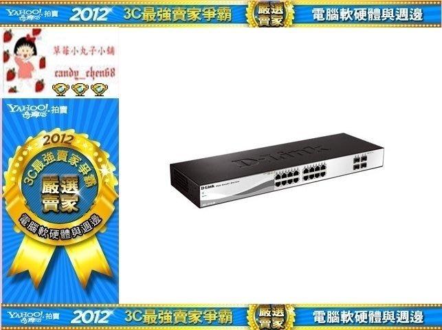 【35年連鎖老店】D-Link 16埠Gigabit Smart 交換器DGS-1210-20有發票/3年保固
