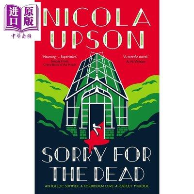 Sorry for the Dead 英文原版 尼科拉 厄普森 為死者哀悼 犯罪推理小說 Nicola Upson