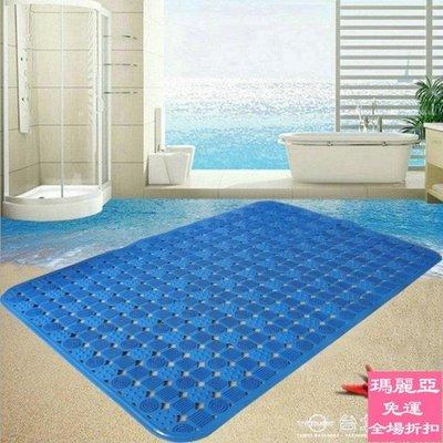 新品9折 地墊淋浴純色防滑地墊pvc衛...