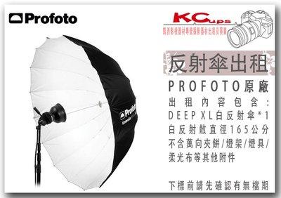 凱西影視器材 PROFOTO Umbrella Deep XL White 深型白底反射傘 165公分 出租