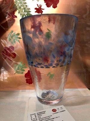 玟玟珍藏區—星巴克 夏日玻璃杯 日本製造 波光粼粼杯