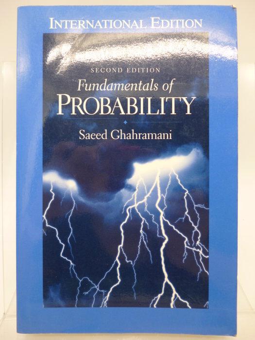 Fundamentals of Probability(2/E)_Saeed Ghahramani 〖大學理工醫〗AEM