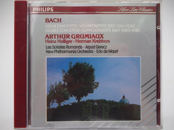 Bach:Violin Concertos…_Arthur Grumiaux_巴哈小提琴協奏曲_古典樂 〖專輯〗CIR