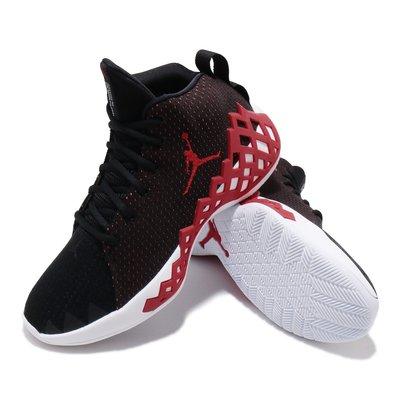=E.P=JORDAN JUMPMAN DIAMOND MID PF 黑紅 籃球鞋 網格 男鞋 CI1205-006
