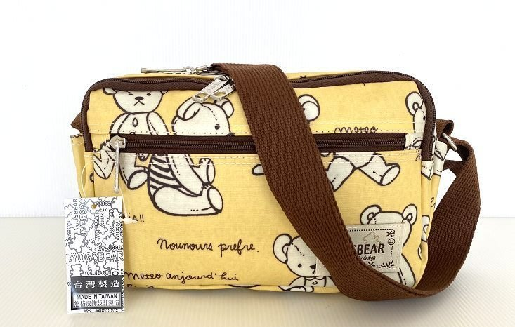 【YOGSBEAR】台灣製造 特價出清 N 側背包 斜背包 休閒包 旅遊包 肩背包 淑女包 護照包 YG09