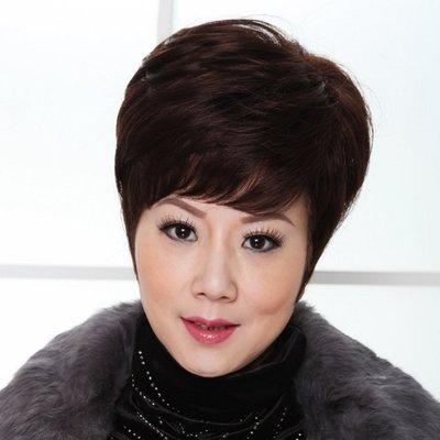 水媚兒假髮9M415♥新款女士假髮 時尚高貴 短微捲髮♥ 現貨或預購 團購批發