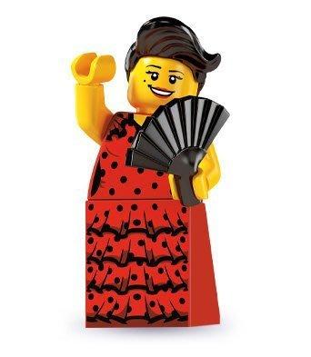 LEGO 樂高 6代 人偶包 6號 佛朗明哥舞女 全新 8827  minifigures seaeon 6 六代