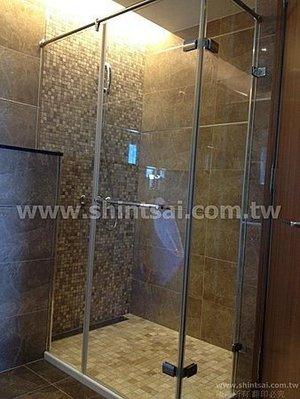 shintsai玻璃 淋浴拉門 淋浴間乾濕分離  浴室玻璃拉門止水條 淋浴間防水條 黑色止水條 更換止水條