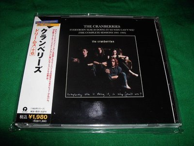 THE CRANBERRIES(小紅莓合唱團).everybody else is doing it,so why can t we?.日本版見本品.保存如新