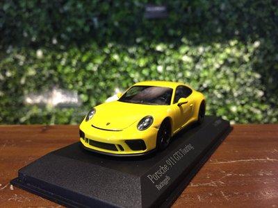 1/43 Minichamps Porsche 911 (991.2) GT3 Touring 2018【MGM】