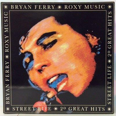 合友唱片 面交 自取 BRYAN FERRY 布萊恩費瑞 2LP 黑膠唱片 Roxy Music 精選集