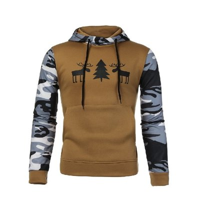 『潮范』 N5 常年供貨亞馬遜速賣通EBAY外貿爆款男士套頭衛衣 夾克 棉質連帽外套