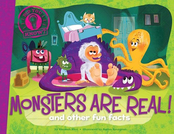 *小貝比的家*MONSTERS ARE REAL AND OTHER FUN FACTS/平裝/7~12歲