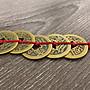 五帝錢吊飾   銅製  闢邪擋煞  中國結繩吊飾