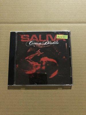 *還有唱片二館*SALIVA 二手 A1231 (封面底破.下標幫結)
