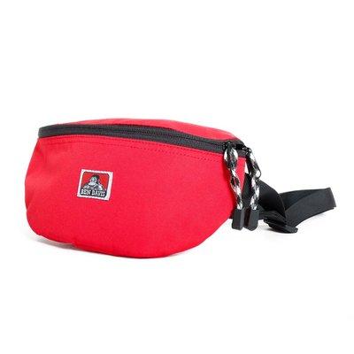 【Brand T】免運 BEN DAVIS WAIST POACH BAG 紅色*LOGO*腰包*側背包*小包*猿人