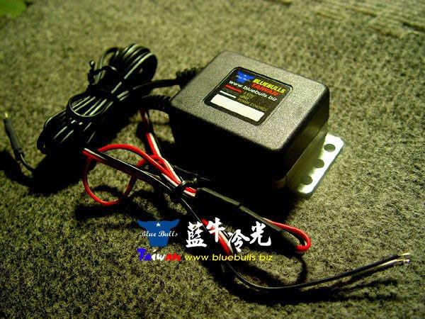 【藍牛冷光】冷光片 冷光貼紙 通用型驅動器 變壓器 INVERTOR 小燈長亮煞車閃爍 一年保固
