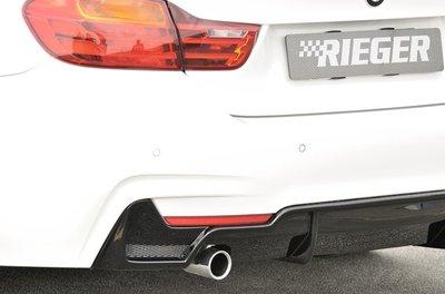 【樂駒】RIEGER BMW F32 F33 F36 M Series REAR SKIRT INSERT 後下擾流
