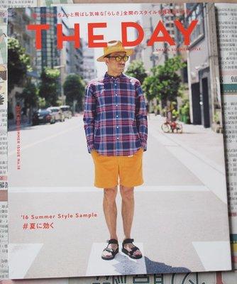 [POPEYE可參考]日版男性流行文化雜誌THE DAY 16年盛夏號: '16 Summer Style Sample