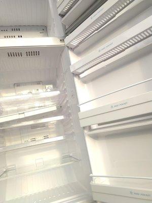 三洋 冰箱  灰色 310L 鏡面鋼烤  SANYO