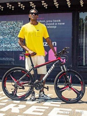 山地自行車男變速城市越野賽車減震輕便女單車學生公路腳踏車跑車-恆達低價-可開發票