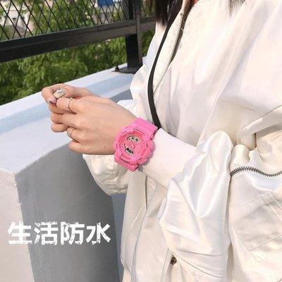 【蘑菇小隊】手錶運動電子手錶女學生韓版簡約潮流ulzzang男休閒情侶抖音夜光防水 DF-MG72154
